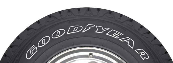 goodyear white letter tires